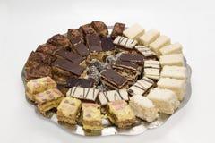 Sobremesa do bolo Imagens de Stock