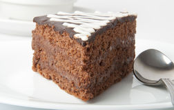 Sobremesa do chocolate Fotos de Stock Royalty Free