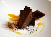 Sobremesa do chocolate Imagens de Stock Royalty Free