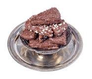 Sobremesa do chocolate Imagem de Stock