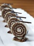 Sobremesa do chocolate Imagens de Stock