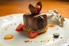 Sobremesa do chocolate - México foto de stock royalty free