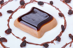 Sobremesa do cotta do panna do café Imagens de Stock