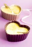 Sobremesa do creme Imagem de Stock Royalty Free