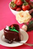 Sobremesa do dia dos Valentim Fotografia de Stock