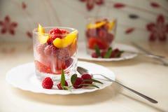 Sobremesa do gelado Imagens de Stock