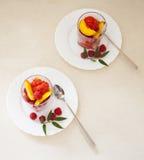 Sobremesa do gelado Fotos de Stock Royalty Free