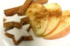 Sobremesa do Natal fotos de stock royalty free