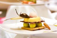 Sobremesa do Shortbread Fotos de Stock Royalty Free