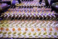 Sobremesa doce imagens de stock