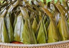 Sobremesa doce tailandesa fotos de stock