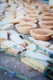 Sobremesa dos Canapes Imagem de Stock Royalty Free