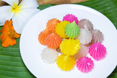 Sobremesa dos doces de Aalaw Imagem de Stock Royalty Free