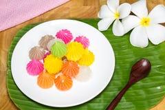 Sobremesa dos doces de Aalaw Imagem de Stock