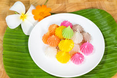 Sobremesa dos doces de Aalaw Fotos de Stock