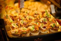 Sobremesa e alimento Imagem de Stock