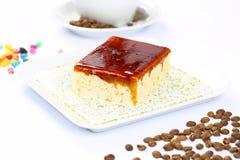 Sobremesa e café de Trilece Foto de Stock