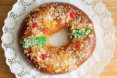 Sobremesa espanhola do esmagamento Fotografia de Stock Royalty Free