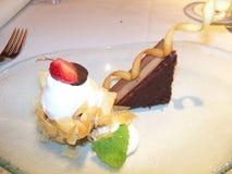 Sobremesa extravagante no restaurante Imagem de Stock