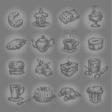 Sobremesa. Formato do vetor Foto de Stock