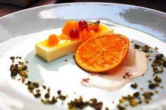 Sobremesa francesa Fotografia de Stock Royalty Free