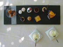 Sobremesa francesa imagem de stock