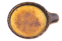 Sobremesa francesa - queimado de creme foto de stock royalty free
