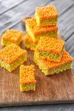 Sobremesa friável colorido Fotografia de Stock