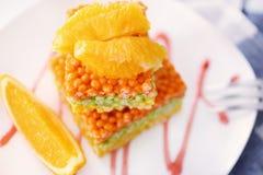 Sobremesa friável colorido Fotos de Stock