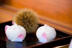 Sobremesa japonesa Fotografia de Stock Royalty Free