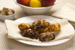 Sobremesa judaica tradicional Rugelach Foto de Stock Royalty Free