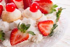 sobremesa Merengue-baseada Imagem de Stock