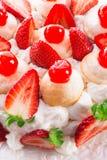 sobremesa Merengue-baseada Fotos de Stock Royalty Free