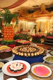 Sobremesa no casamento do bufete Imagens de Stock Royalty Free
