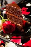 Sobremesa romântica Fotografia de Stock Royalty Free