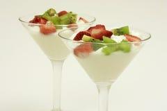 Sobremesa saudável Imagens de Stock