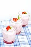 Sobremesa saudável Imagem de Stock Royalty Free
