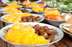 Sobremesa tailandesa Imagem de Stock Royalty Free