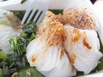 Sobremesa tailandesa foto de stock
