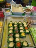 Sobremesa tailandesa Fotografia de Stock