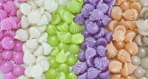 Sobremesa tailandesa: Bolinho de massa pegajoso friável ou A-Lua Fotografia de Stock Royalty Free
