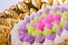 Sobremesa tailandesa colorida Imagens de Stock Royalty Free