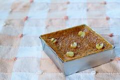 Sobremesa tailandesa Mung Bean Thai Custard D fotografia de stock royalty free