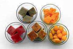 Sobremesa tailandesa tradicional Imagem de Stock