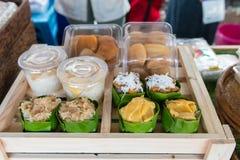 Sobremesa tailandesa tradicional fotografia de stock royalty free
