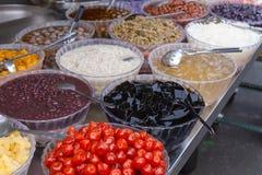 Sobremesa taiwanesa no nightmarket Imagem de Stock