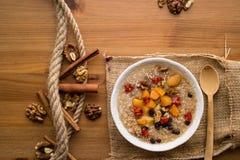 Sobremesa tradicional turca de Ashure fotografia de stock royalty free
