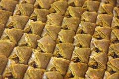 Sobremesa turca tradicional do baklava Foto de Stock Royalty Free
