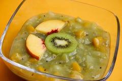 Sobremesa verde da fruta Imagens de Stock Royalty Free