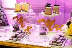 Sobremesas Fotografia de Stock Royalty Free